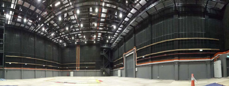 Internal view of Film Studio